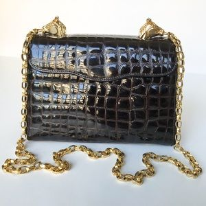 Vintage • horse head purse